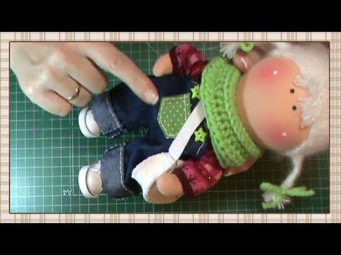 Tutorial Renata: jersey y calcetines - YouTube