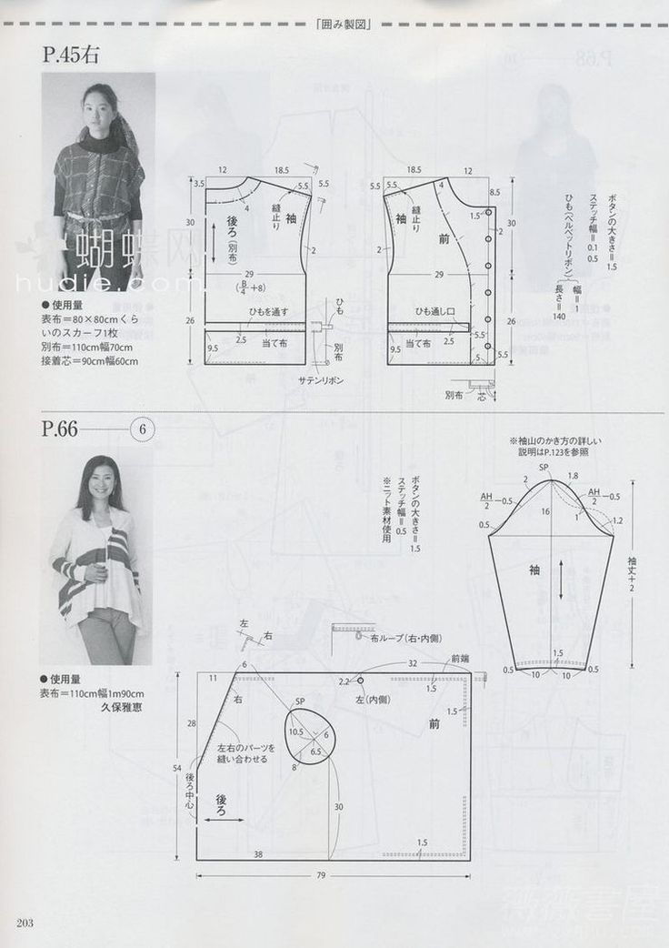 jacket, pattern instructions