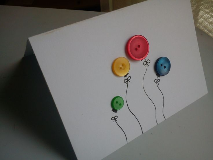 card, ballons, i love buttons