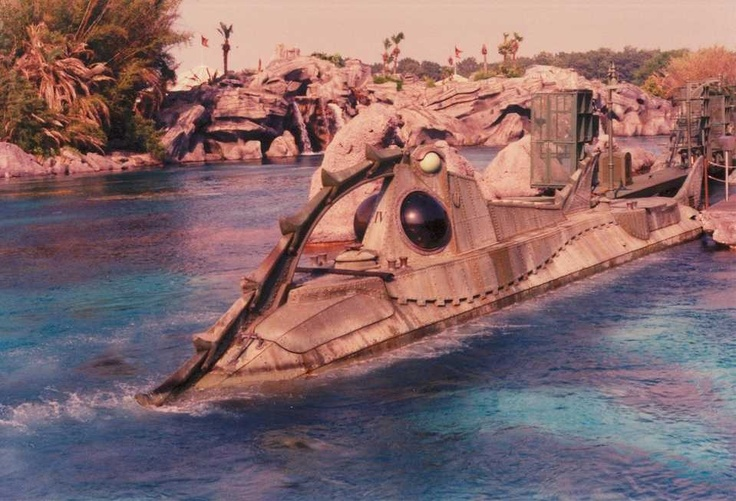 """20000 Leagues Under the Sea""  one of my favorite rides at Disney World when I was 10."