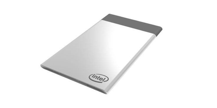 Intel's Compute Card is a PC that can fit in your wallet
