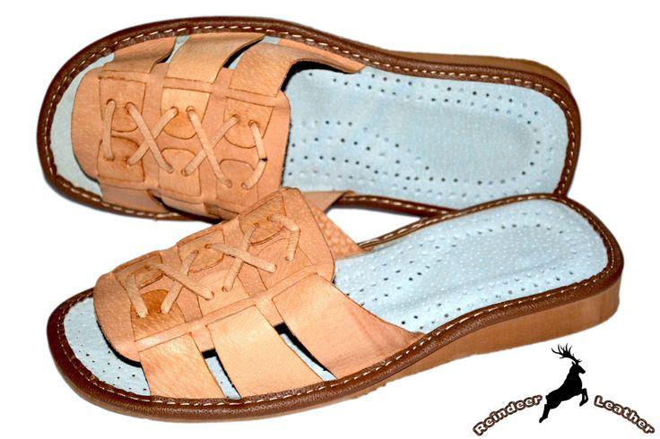 Agata Roman Leather Mule