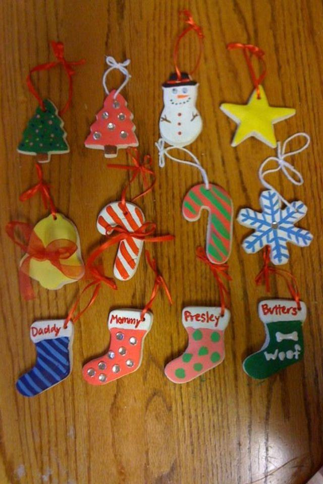 Salt dough ornaments                                                                                                                                                                                 More