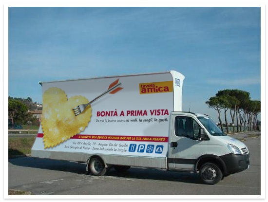 Camion Vela - CAMST     #campagna #adv #camst #food