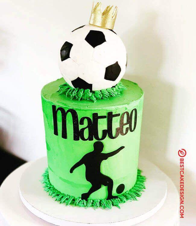 50 Soccer Cake Design Cake Idea March 2020 In 2020 Soccer Cake Soccer Ball Cake Cake