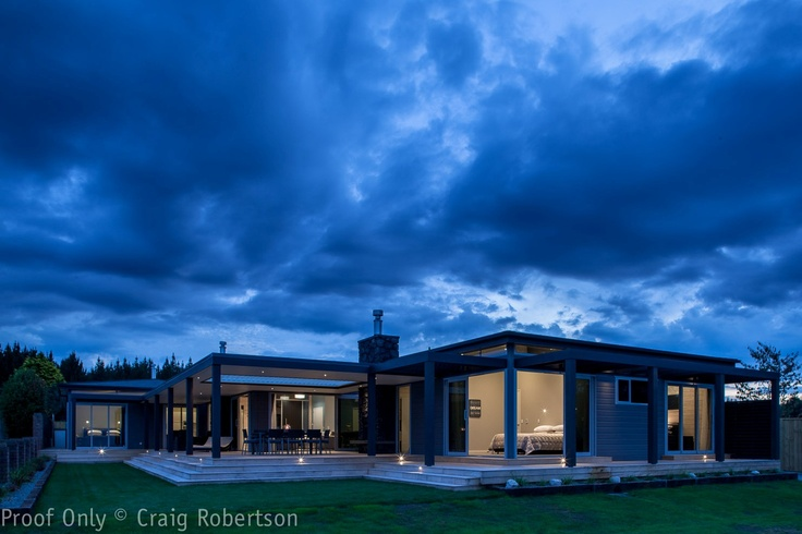House in Taupo,New Zealand by Lockwood homes