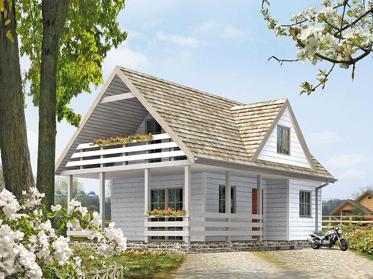 Poziomka_bal to mały, ale bardzo funkcjonalny dom letniskowy, który został zaprojektowany z myślą o licznej rodzinie, gronie znajomych, przyjaciół. Szczegóły projektu dostępne są na stronie: www.domywstylu.pl.... #poziomka #domywstylu #mtmstyl #projektygotowe #domyrekreacyjne #domyletniskowe