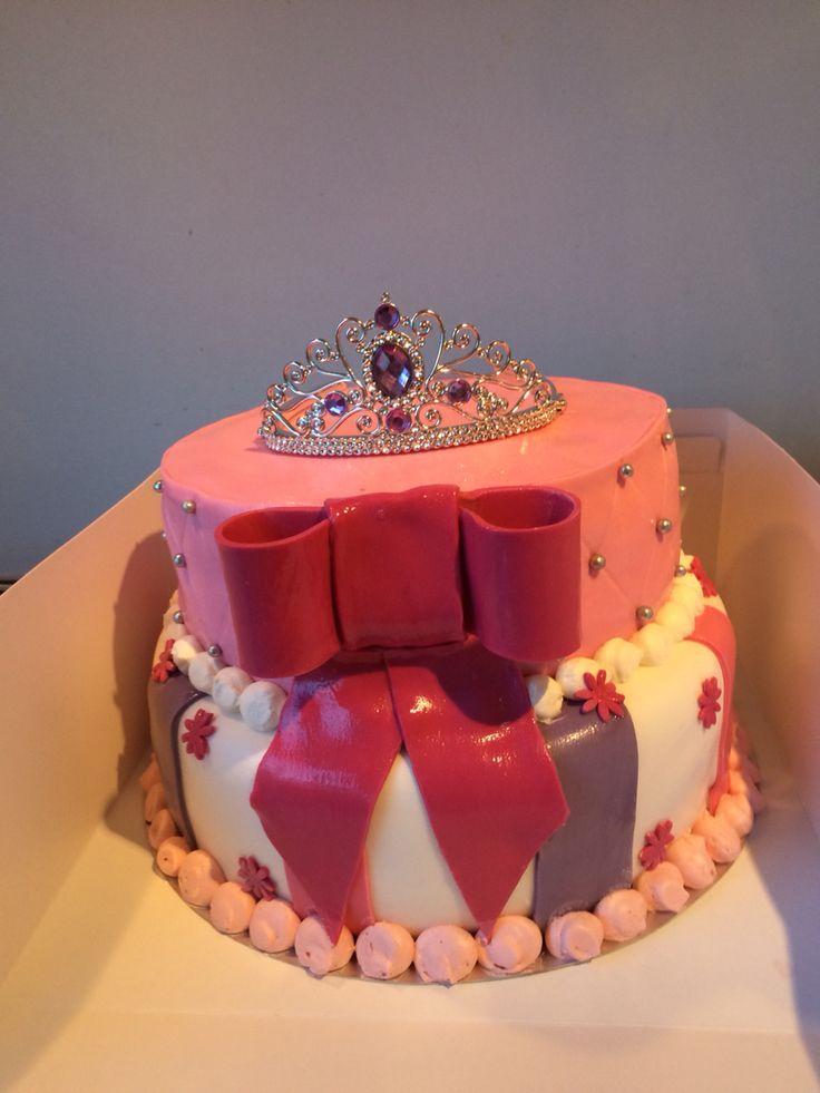 Prinsessen kroon taart