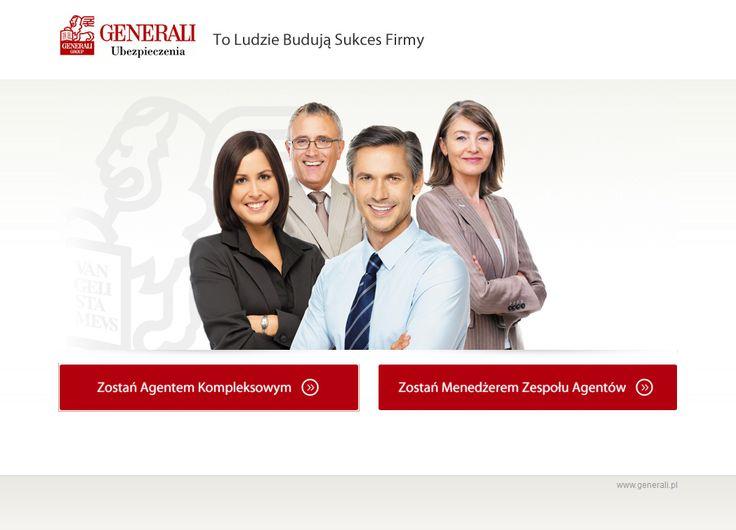 Minisite for Generali. #web_design