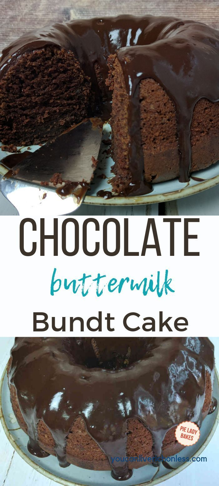 The Best Buttermilk Chocolate Cake You Make In One Bowl Video Recipe Chocolate Bundt Cake Bundt Cake Savoury Cake