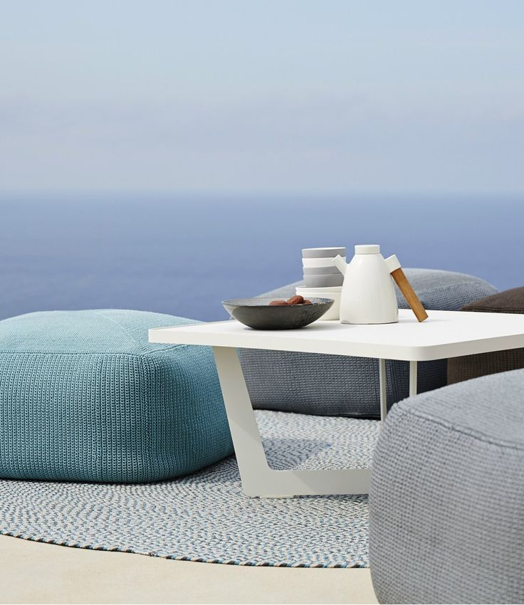 Details that add the finishing touch to design furniture. Cane-line accessories range @caneline