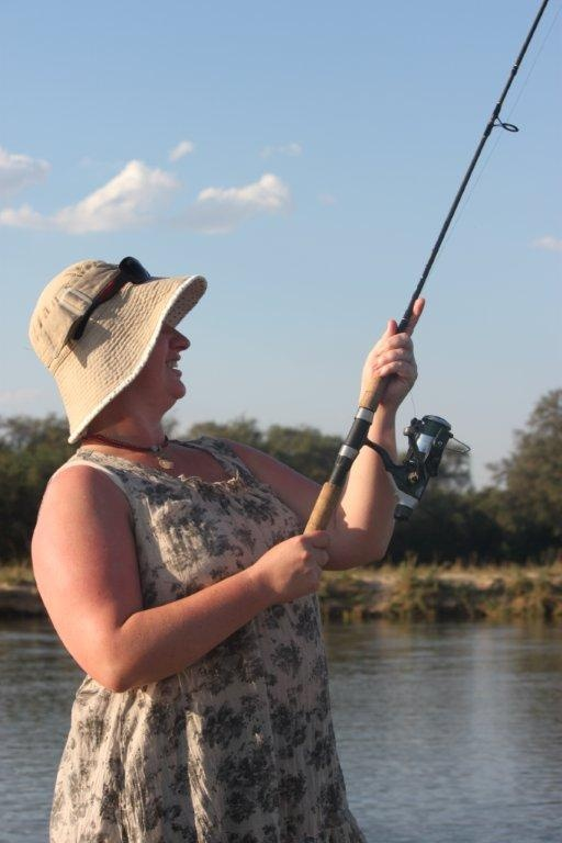 Tiger fishing on the lower #Zambezi. #Zambia