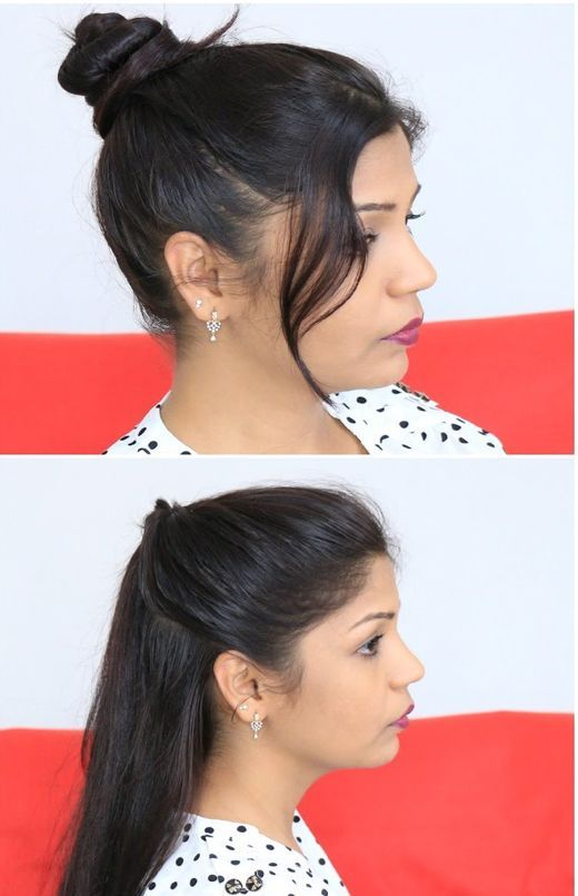 Easy Updo Hairstyle For Lazy Girls 2017 2018 Hairstyle Collection