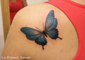 Les 25 meilleures id es de la cat gorie tatouages de papillon sur pinterest tatouage papillon - Tatouage larme signification ...