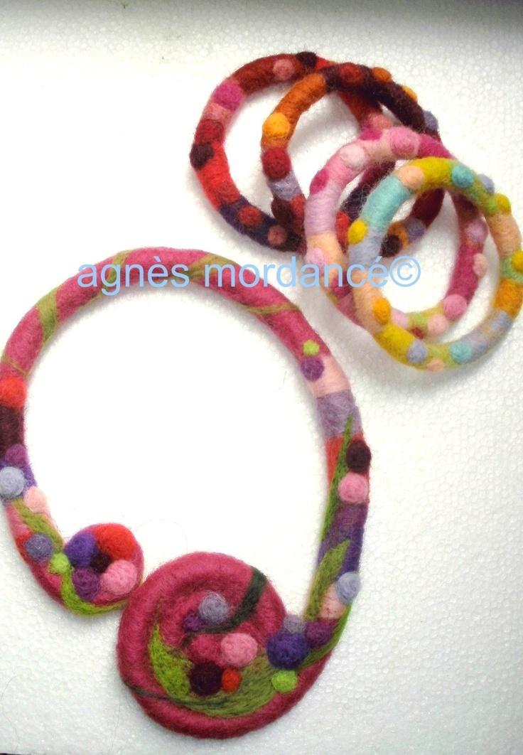 Creation bracelet en laine