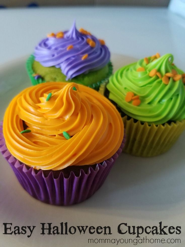 Easy halloween cupcakes recipe easy halloween Halloween cupcakes