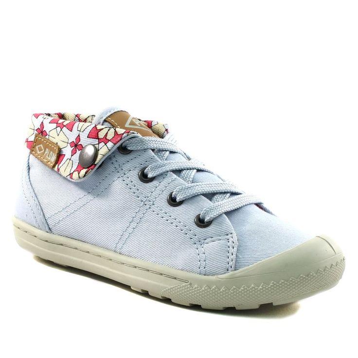 482A PALLADIUM LETTY TWL BLEU www.ouistiti.shoes le spécialiste internet #chaussures #bébé, #enfant, #fille, #garcon, #junior et #femme collection printemps été 2017