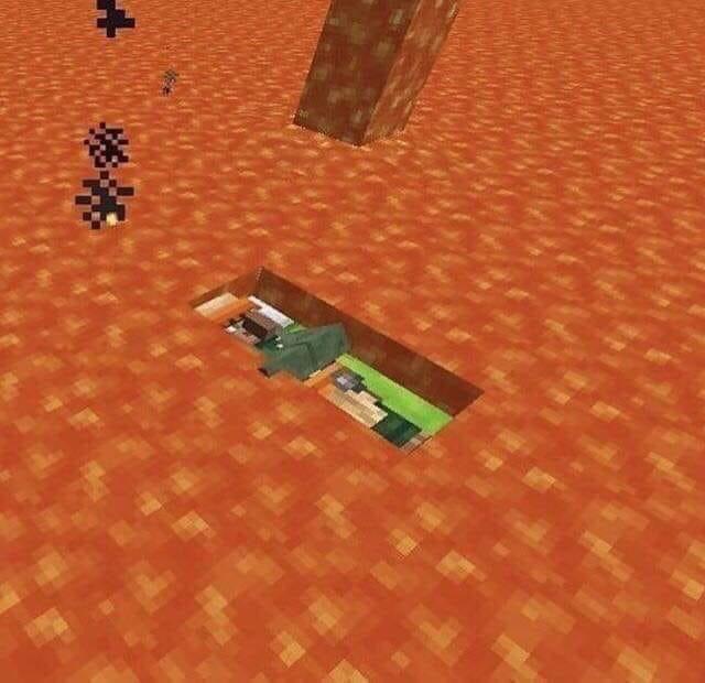 When We Fall Asleep Where Do We Go Minecraft Minecraft Memes How To Fall Asleep Minecraft Images