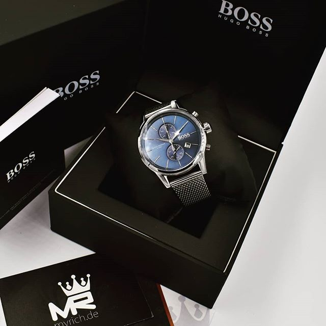 Hugo Boss 1513441 Myrich De Hugoboss Original Watch 1513441 Rolex Bosswatch Style Uhr Hbwatch Fashio Hugo Boss Watches Blue Watches Business Watch