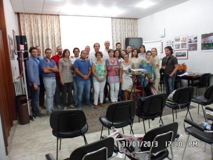 gli EUROPROGETTISTI partecipanti al Master