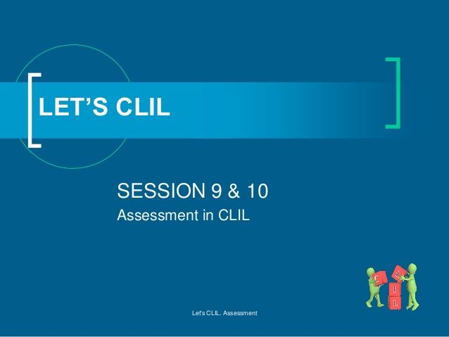 CLIL 6 assessment in CLIL