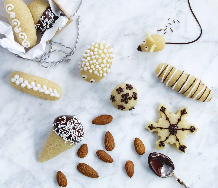 Christmas treats.  #christmastreats #christmascandy #julegodt #marzipan #marsipan #foodie #foodstyling @janivarnykvist #foodphotography @elisabeth.hilde