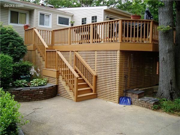 17 best images about under deck storage on pinterest for Balcony underside