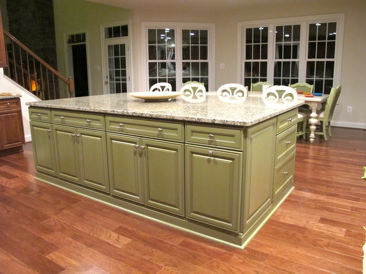 Kitchen Island Green 59 best kitchen island ideas images on pinterest | kitchen ideas