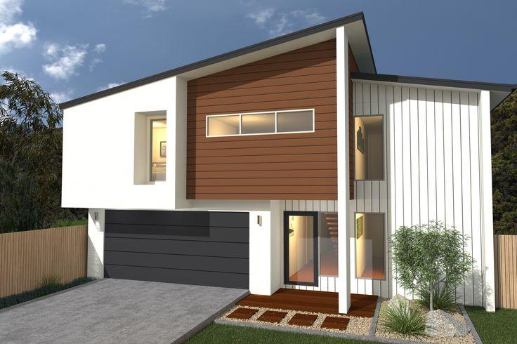 Costa Home Designs  Sunshine Coast Home Builders  VILLA260 Urban Facade