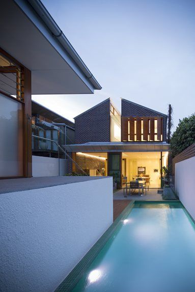 Green House - Rozelle, Australia - 2013 - Carterwilliamson Architects #swimmingpool