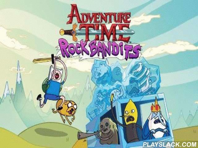 Rock Bandits: Adventure Time  Android Game - playslack.com , aid Finn and Jake find and free kidnapped devices of Marceline and her rock band. aid the heroes go through many areas. crystal emperor made  his own band, but failed to become famous, so, he decided to take some devices for himself. In this Android game you need to punish the lawbreakers and rescue the devices. Finn and Jake go to the Acheronian lands, where they will need to dodge many devices and conquer your attractive foes…