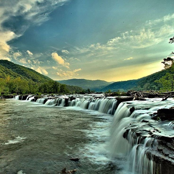 Places To Visit In The Fall On The East Coast: €�A Rugged, Whitewater River Flowing Northward Through Deep
