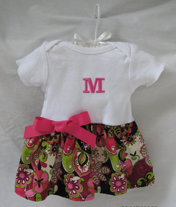 monogram and add a skirt