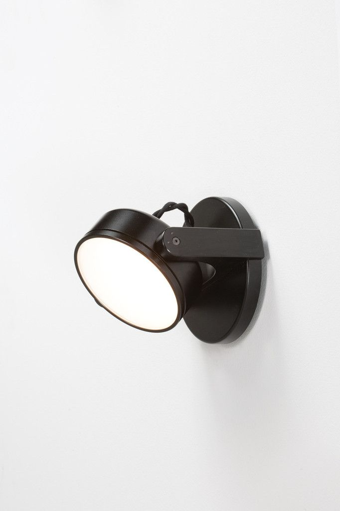 Rich Brilliant Willing, Monocle Wall Sconce, Flat Lens
