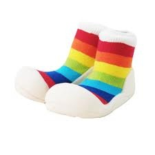Attipas functional toddler shoes in Rainbow