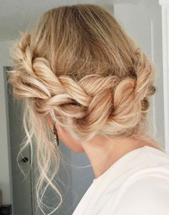 CROWN BRAID #adelineweddings #marriage #love