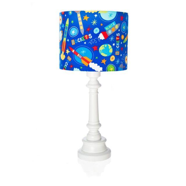 """Lampa """"Rakiety w kosmosie""""  Zobacz inne produkty: http://bit.ly/1mHiui1  #lamps #forkids #design #dizajn #rockets #cosmos"""