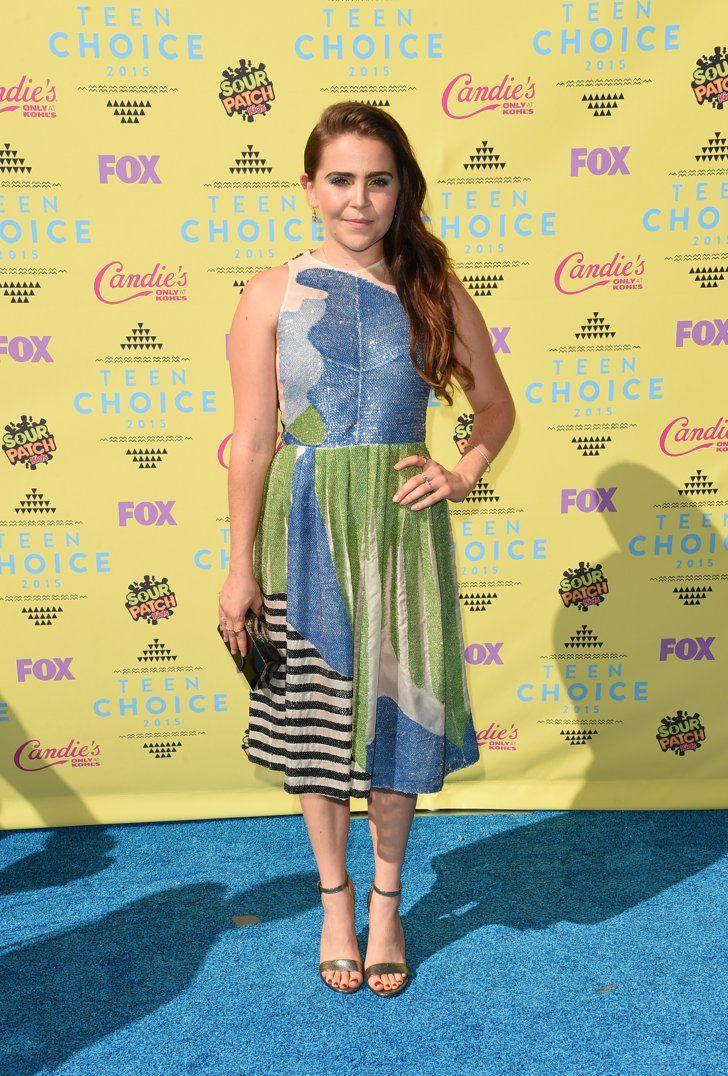 Pin for Later: Le Soleil — et les Stars — Étaient de Sortie Pour les Teen Choice Awards! Mae Whitman