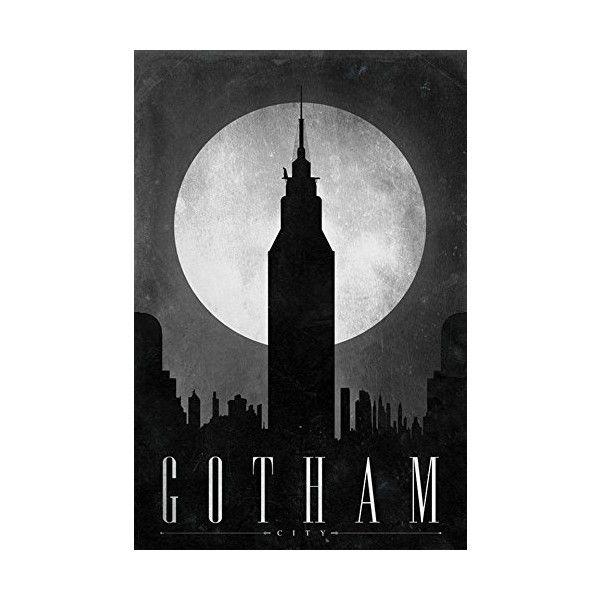 Gotham City Art Home Deco Poster Big Print Wall Decor HOT TV Series.