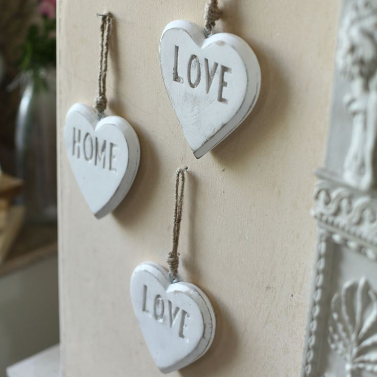 39 love 39 rustic heart decoration from harvey norman ireland - Harvey norman ireland ...