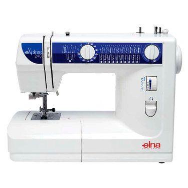Elna 240 Explore Sewing Machine White   Spotlight Australia