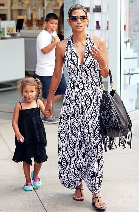 Halle Berry & her daughter