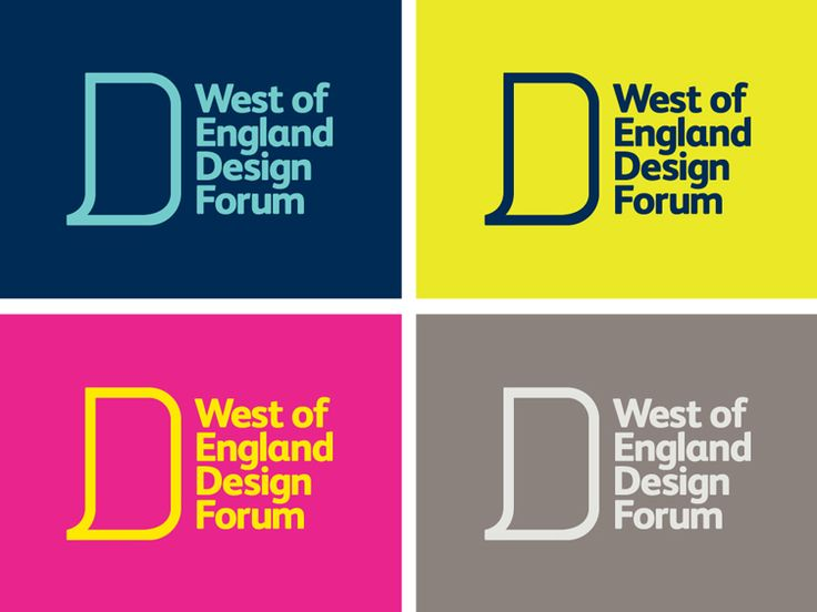 Mytton Williams: West of England Design Forum logo colours