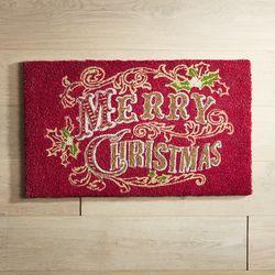 Merry Christmas 18x30 Doormat
