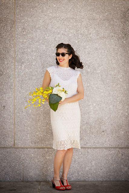 knitted wedding dress!?!?!? HELLO!