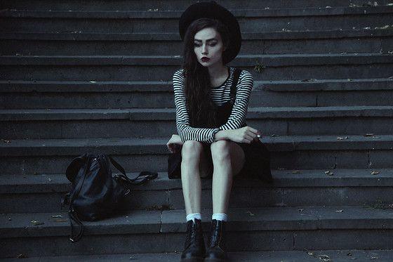 Get this look: http://lb.nu/look/7387774  More looks by Violet Ell: http://lb.nu/user/79093-Violet-E  Items in this look:  Hat   #grunge #vintage