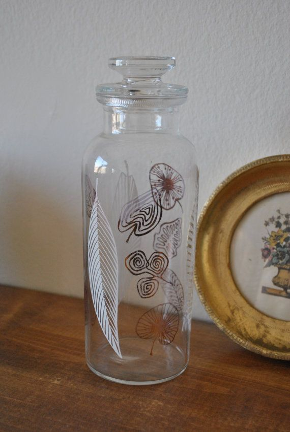 Hey, I found this really awesome Etsy listing at https://www.etsy.com/listing/274421640/mid-century-lidded-glass-apothecary-jar