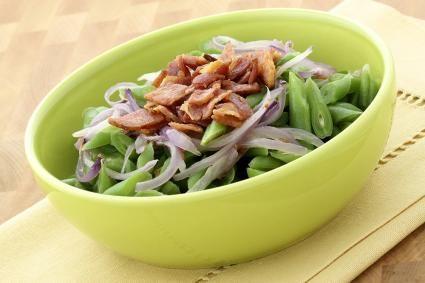 menuterraneus - Receta de Judías verdes rehogadas con bacon