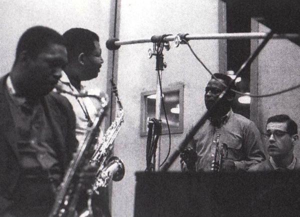 John Coltrane, Cannonball Adderly, Miles Davis, and Bill Evans
