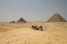 Cairo, Egypt, Egyptian, Desert Pyramids